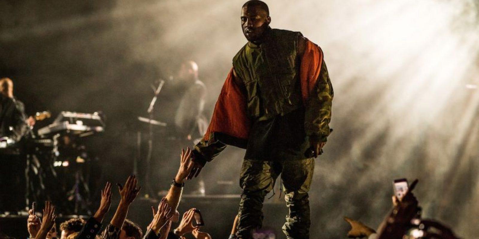 Según la religión Yeezianity, la palabra de Kanye West indica que… Foto:Getty Images