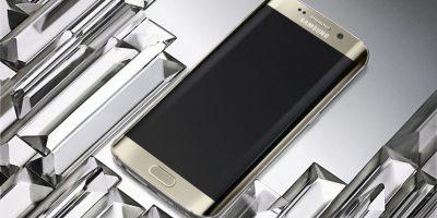 La resistencia del Samsung Galaxy S6 Edge fue puesta a prueba. Foto:Samsung