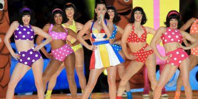 Katy Perry también con dos nominaciones. Foto:Getty Images