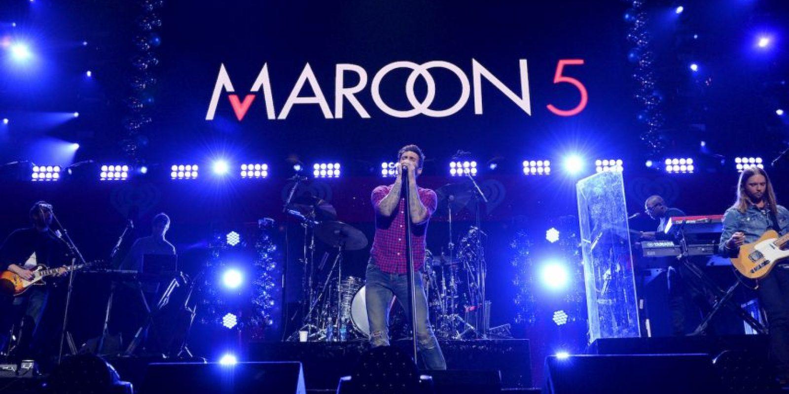Maroon 5 alcanzó una nominación Foto:Getty Images