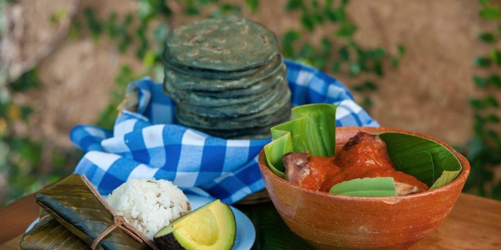 """En esta ocasión, en PUBLIMETRO nos deleitará con el Subanik, cuyo significado es """"tamal rojo"""" y era la comida de los reyes. Foto:Restaurante 7 Caldos"""