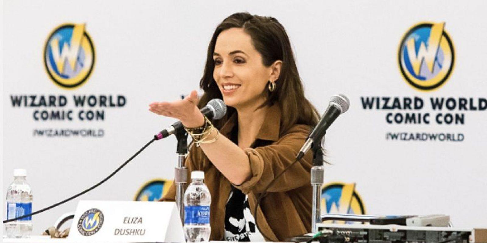 """Ha actuado en series como """"White Collar"""" y """"Dollhouse"""". También es una reconocida actriz de voz para series y videojuegos. Foto:vía Getty Images"""