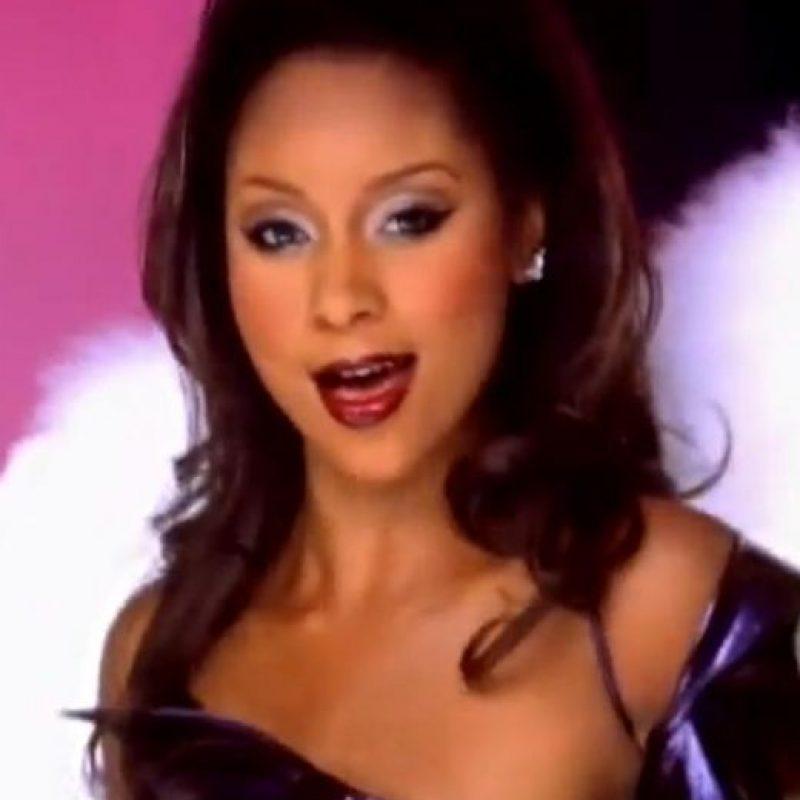 """Natina murió a los 32 años, en 2012, atropellada. Dejó un hijo. Estaba en el grupo de R&B Blaque, con otras dos compañeras que también eran parte del equipo Clovers en """"Triunfos Robados"""". Foto:vía Youtube/Blaque"""