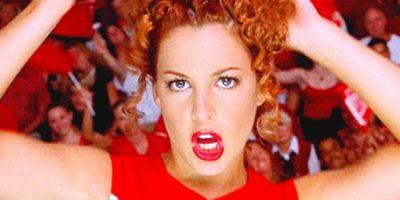 """Lindsay Sloane era """"Big Red"""", la antigua capitana de los Toros, quien era despótica y robaba rutinas a los Clovers. Foto:vía Universal"""