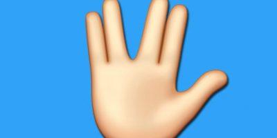 """El """"Saludo Vulcano"""" se integrará a los emojis de Apple"""