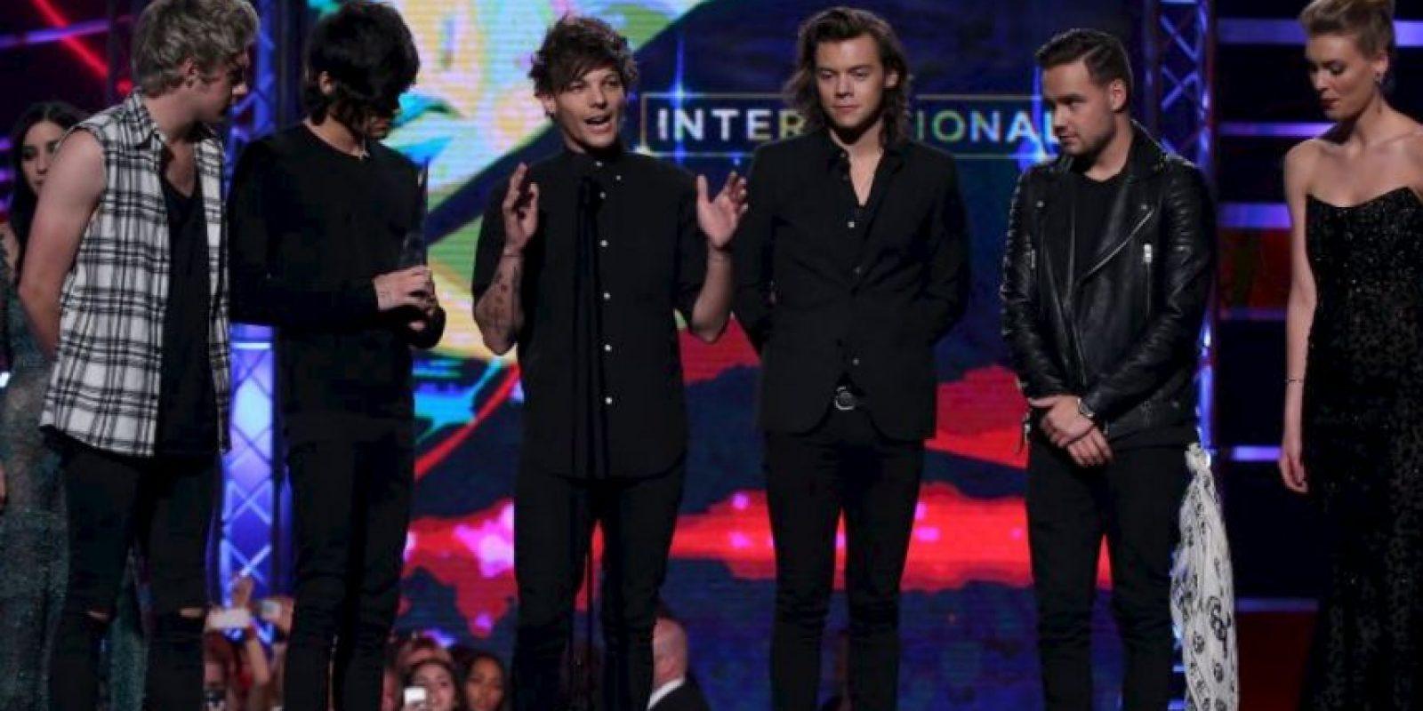 One Direction ganó el año pasado $75 millones de dólares. Foto:Getty Images