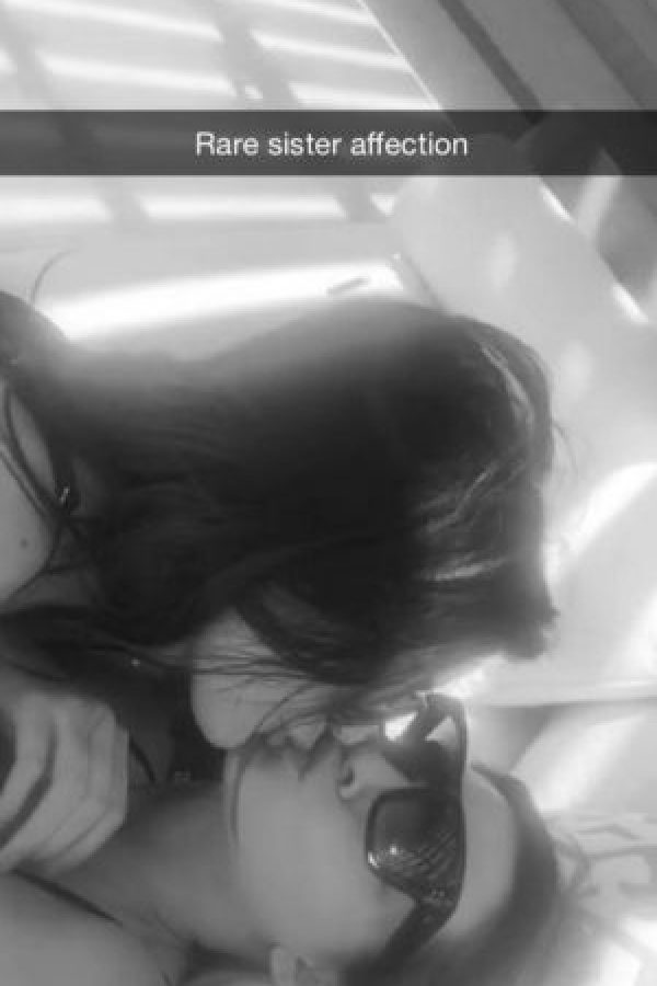 Kendall y Kylie Jenner Foto:Vía Snpachat