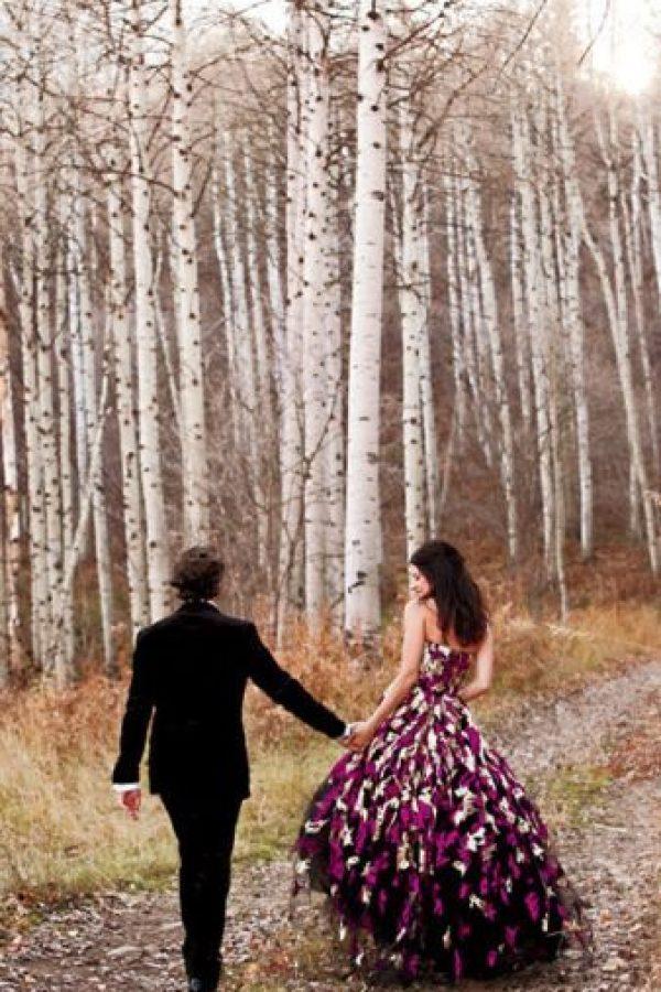 Perfecto modelo otoñal Foto:brides.com