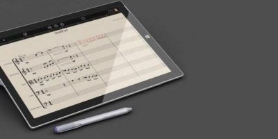 StaffPad es exclusiva para la Surface Pro 3 de Windows. Foto:twitter.com/MrMalcontent/