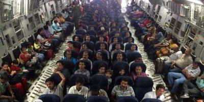 Esta operación también rescatará a 232 personas de 26 países, gesto que ha sido agradecido por la comunidad internacional Foto:AFP