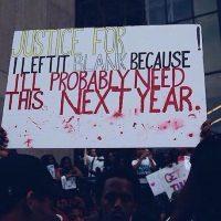 """""""¡Justicia para _____! Lo dejo en blanco porque posiblemente lo necesite el año que viene"""" Foto:Instagram.com/melmelmelmel__"""