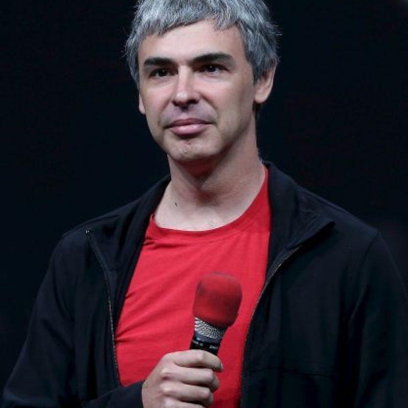 En la foto: CEO de Google, Larry Page. Foto:Getty Images