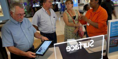 """Una de las peores desventajas de estas T2ablets"""" es que no cuentan con red 3G. Aún con este faltante, su precio es casi el mismo que el de iPads o tabletas Samsung. Foto:Getty"""