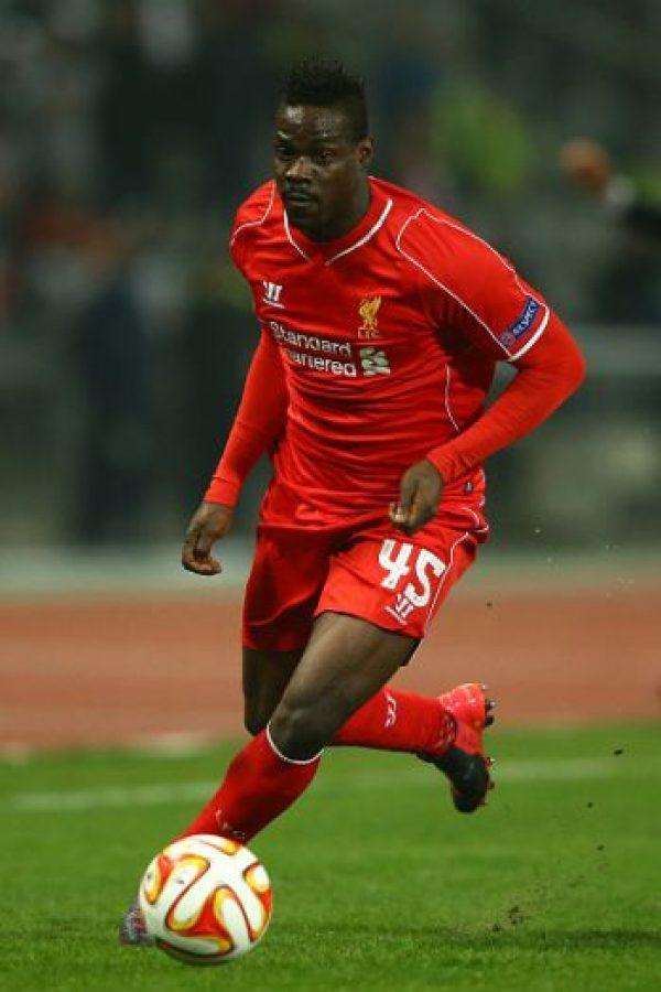 """En 25 partidos con los """"Reds"""" sólo ha marcado 4 goles. Foto:Getty Images"""