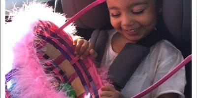 FOTO: ¿De nuevo? La hija de Kim Kardashian viaja en una maleta