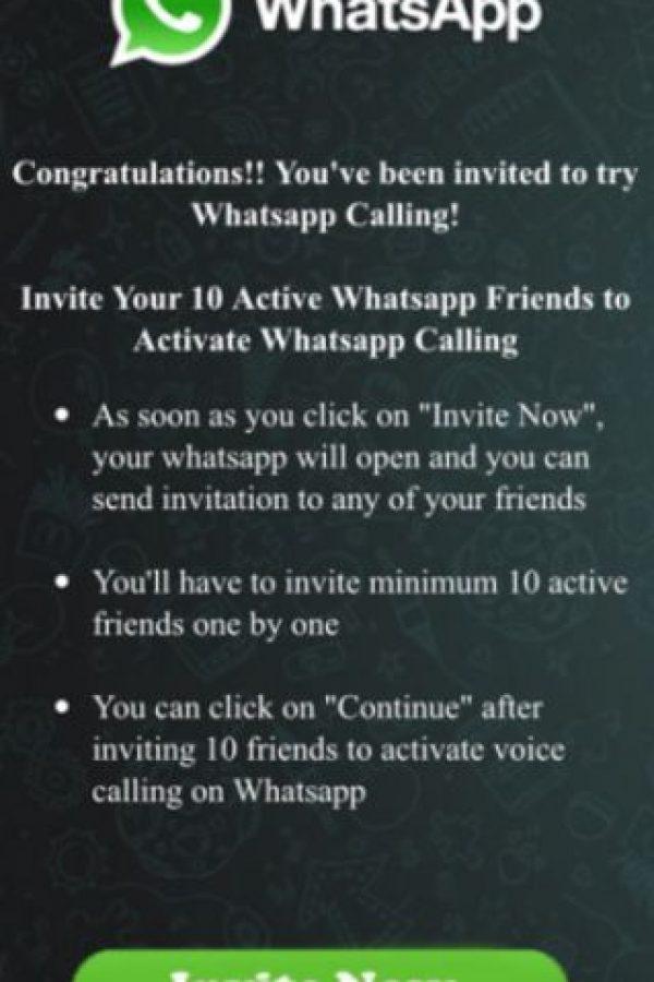 WhatsApp Calling Foto:Twitter