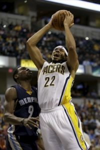 Antes de jugar en Indiana formaba parte de los Knicks de Nueva York Foto:AP