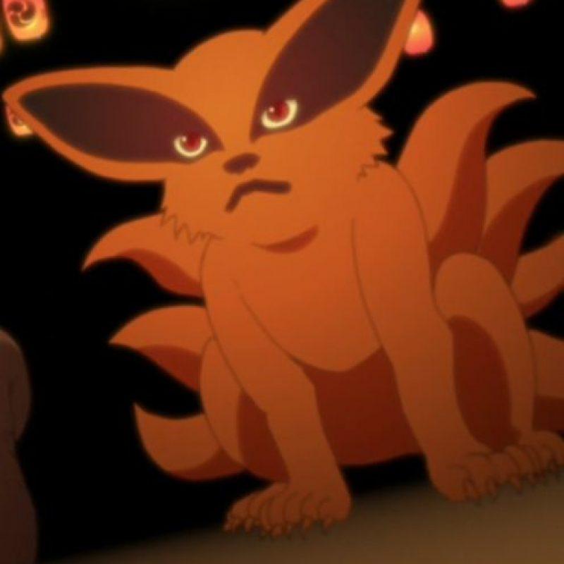 Este es Kurama, el kitsune que se encuentra sellada dentro de Naruto y que se unificó luego de la Cuarta Guerra Mundial Shinobi. Foto:Tv Tokyo