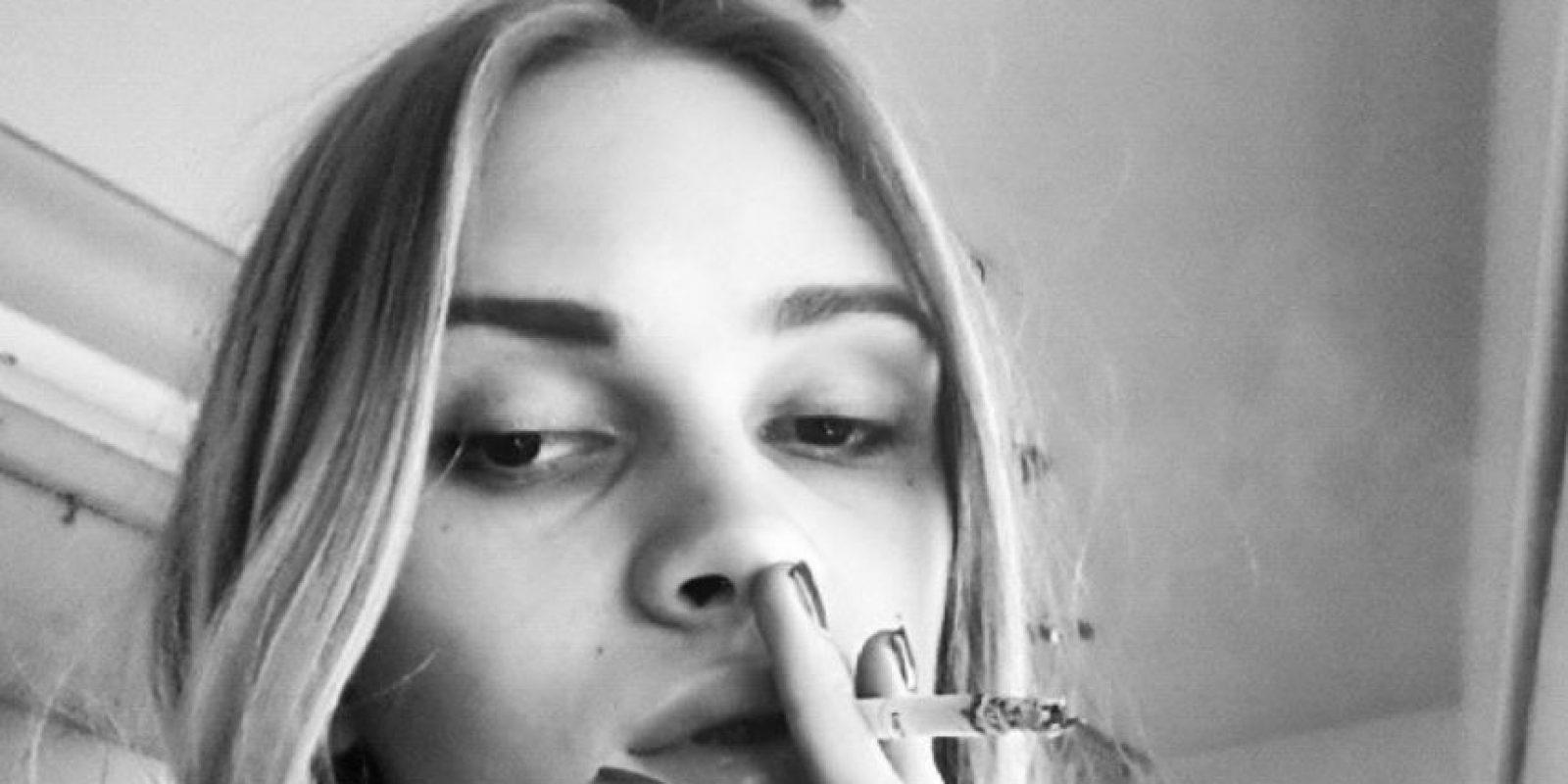 Su ídolo es Cara Delevingne. Quiere conocerla. Foto:vía Instagram/Stav Strashko