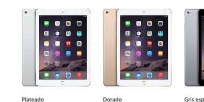 El Mini iPad 2 y 3 están disponibles en tonos plateado oscuro, plateado y dorado. Foto:Apple