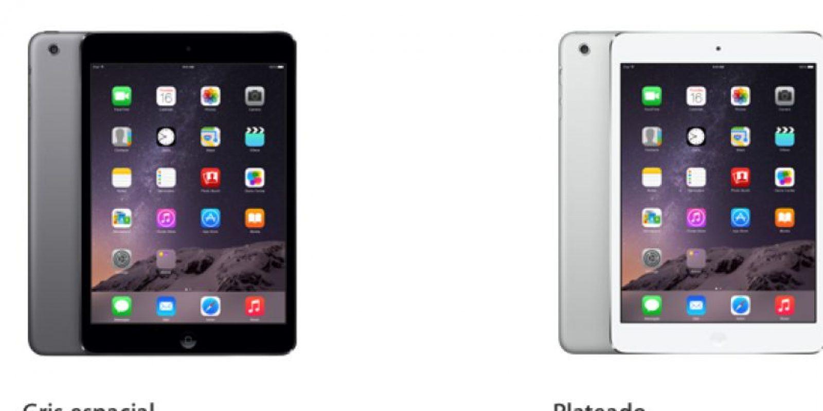 La versión mini del iPad llegó en el año 2012. Desde esa fecha, es considerada como la mejor tablet del mercado. Foto:Apple