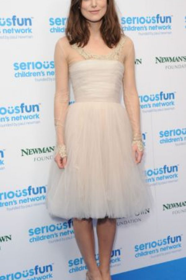 Ustedes admiran a Keira Knightley Foto:vía Getty Images