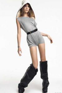 Y Freja Beha es su ídolo. También Lena Dunham. Foto:vía Vogue.