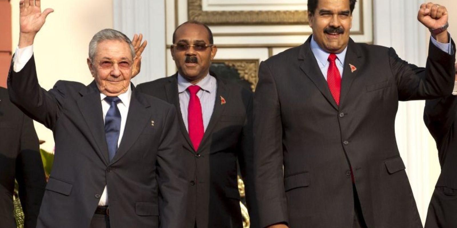 Cuba y Venezuela han reforzado lazos bilaterales. Foto:AP