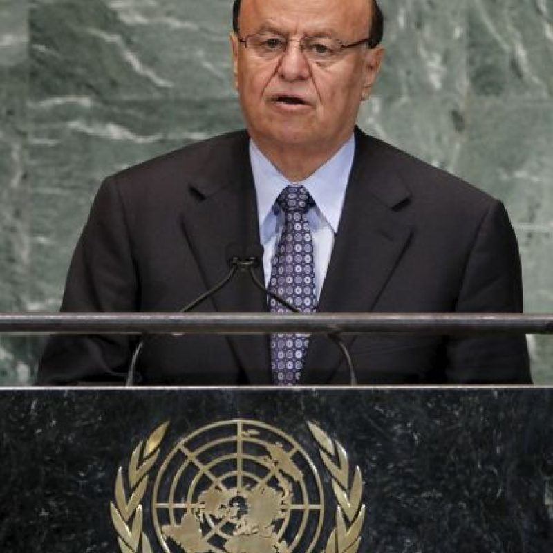 El gobierno del presidente Abed Rabbo Mansour Hadí, el cual cuenta con el visto bueno de la comunidad internacional Foto:AFP