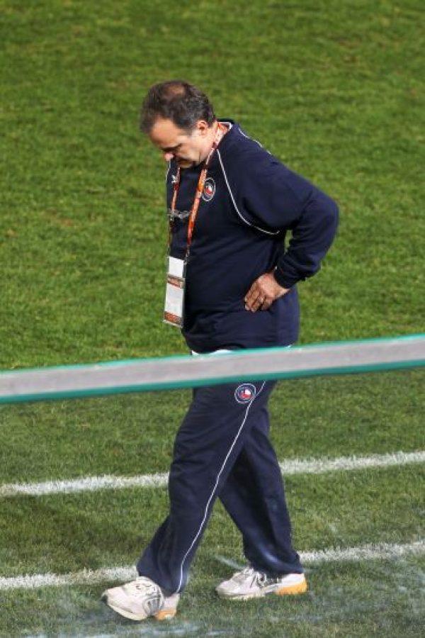 """""""Tras jugar cuatro o cinco partidos en la primera de Newell's me di cuenta de que no podía ser futbolista de nivel. Me propuse entonces ser un entrenador de nivel"""" Foto:Getty Images"""