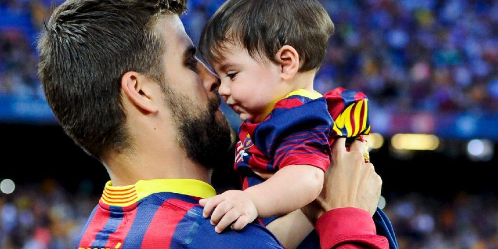 Actualmente son padres de dos niños: Milan y Sasha. Foto:Getty Images