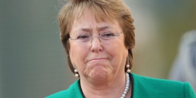 Chile: Veronica Michelle Bachelet Jeria (@PrensaMichelle). Foto:Getty Images
