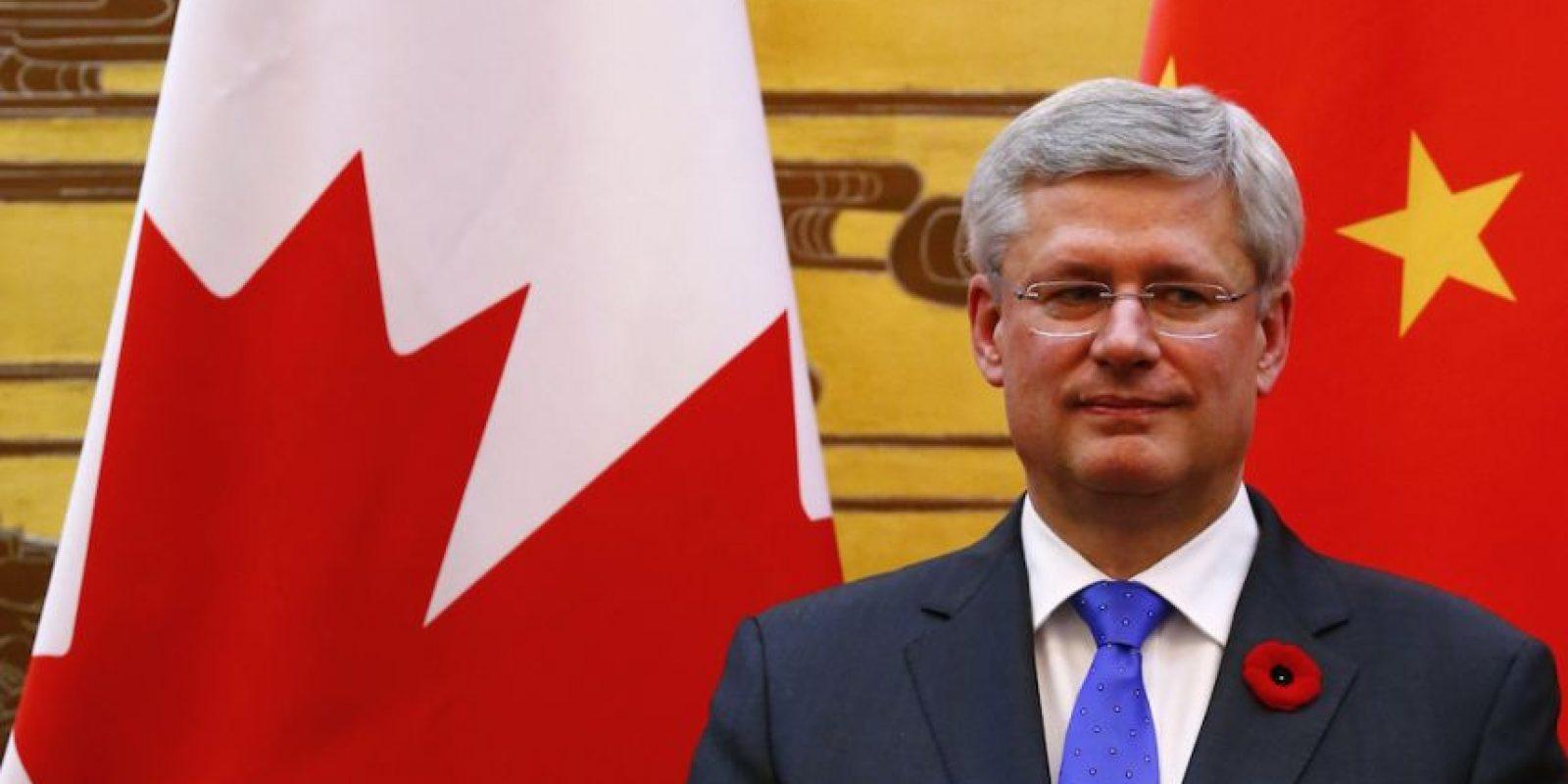 Canadá: Stephen Joseph Harper (@pmharper). Foto:Getty Images