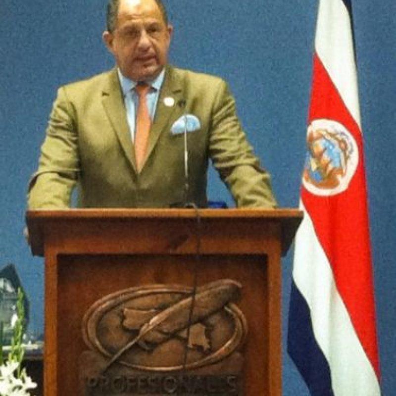 Costa Rica: Luis Gillermo Solís Rivera (@luisguillermosr). Foto:twitter.com/luisguillermosr