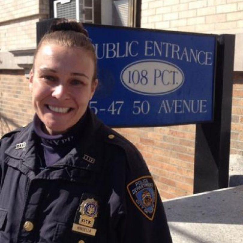 Meghan Kinsella Foto:Vía Twitter.com/NYPD108Pct