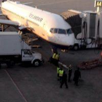 Tuvieron un vuelo de ocho horas con el avión dañado Foto:Facebook.com/amanda.stovall.94