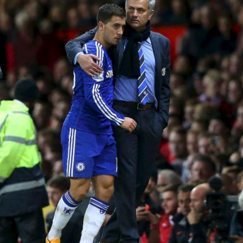 Mourinho ha tenido la fortuna de entrenar a varios delanteros muy talentosos, pero Eden Hazard podría convertirse en uno de los mejores. El belga pudo explotar el talento que había demostrado en la campaña anterior bajo las órdenes del portugués. Ahora es un pilar de Chelsea y la joya más valiosa que posee el equipo. Foto:Getty Images