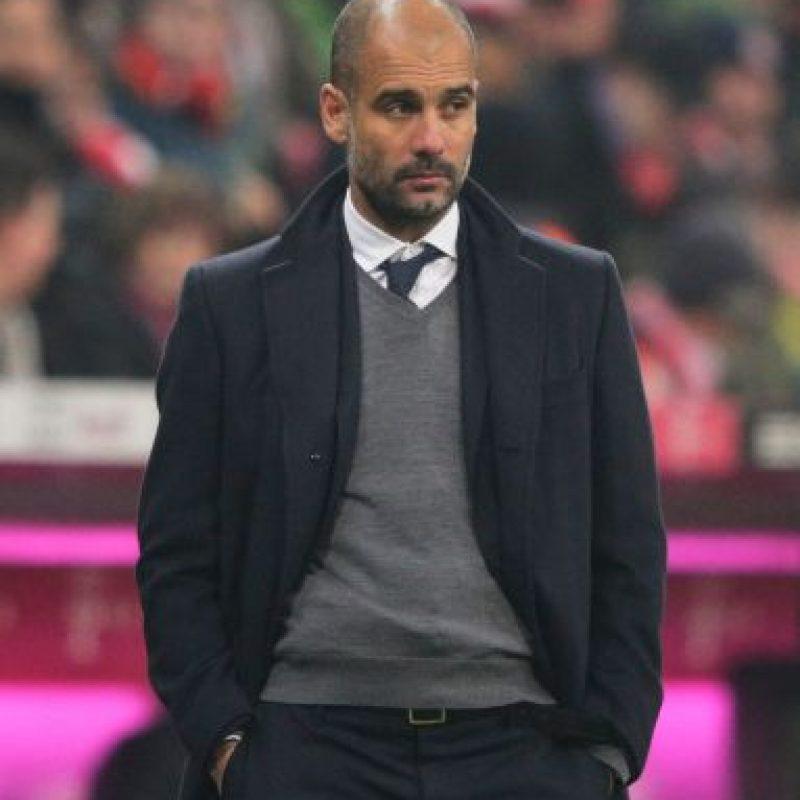 El entrenador español llegó al Bayern Munich en 2013. Foto:Getty Images