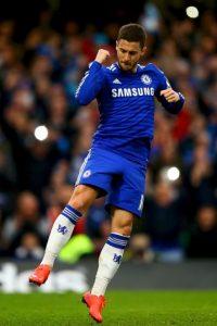 Extremo izquierdo: Eden Hazard (Chelsea) Foto:Getty Images