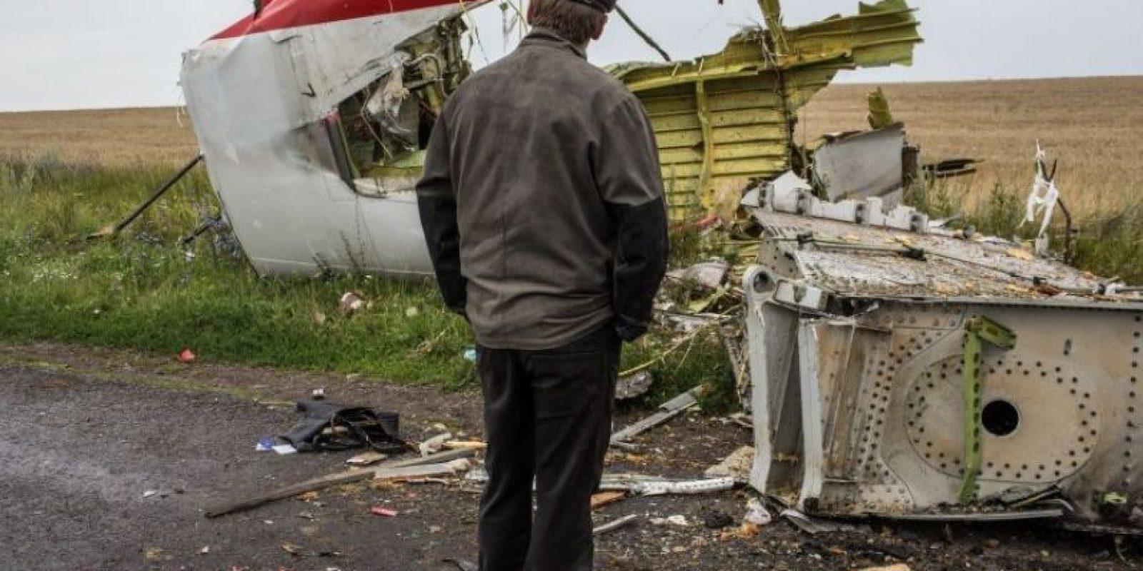 Fue derribado el 17 de julio de 2014 Foto:Getty Images
