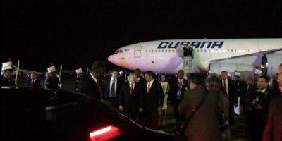 Uno de los presidentes más esperados, Raúl Castro de Cuba Foto:vía twitter @CumbrePanama