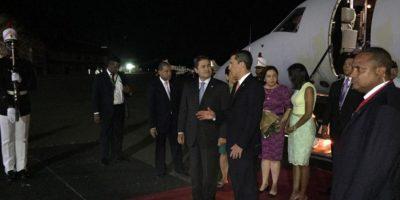 El presidente de Honduras, Juan Orlando Hernández. Foto:vía twitter @CumbrePanama