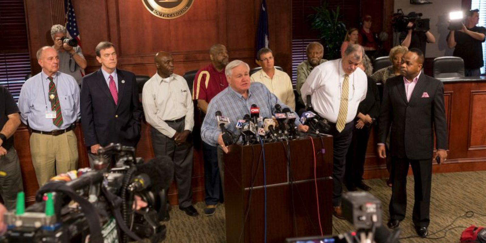 Revelan video de la patrulla del polícia Michael Slage Foto:Getty Images