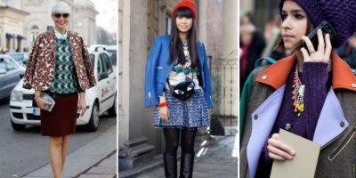 Lo que más se ve en las Semanas de Moda es a la típica bloguera con abrigo o chaqueta encima de los hombros. Foto:vía Vogue