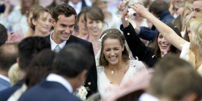 FOTOS. Famoso tenista se casa con falda escocesa y con música de gaita
