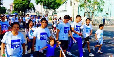 Se unen para correr y caminar por el deporte y la paz