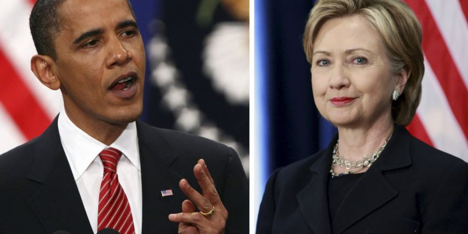 A mediados de noviembre de 2008, el presidente electo Obama y Clinton discutieron la posibilidad de que ella sirviera como Secretaria de Estado de los Estados Unidos en su administración. Foto:Getty Images
