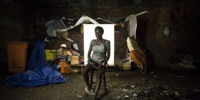 Entre los protagonistas de la fotogalería hay una mujer embarazada de su tercer hijo. Foto:AP/ Felipe Dana