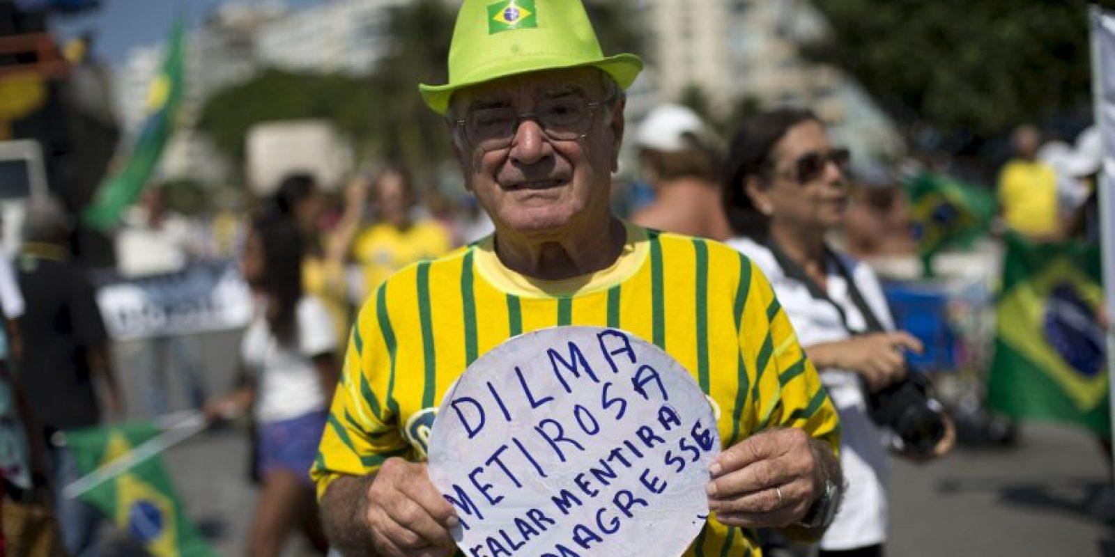 Llaman a Dilma Rousseff mentirosa. Foto:AP