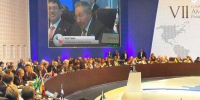 """""""10 presidentes antes que Obama tienen deuda con Cuba, menos el Presidente Obama"""" Foto:Vía Twitter @CumbrePanama"""